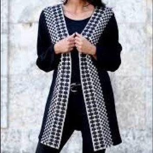 Venario Presley boiled wool jacket